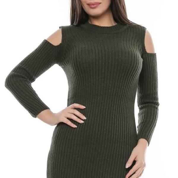 rochie tricot eleganta