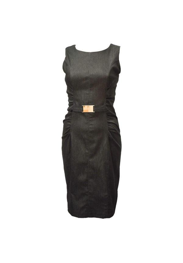 Rochie neagra de vara model nou magazin haine big mag