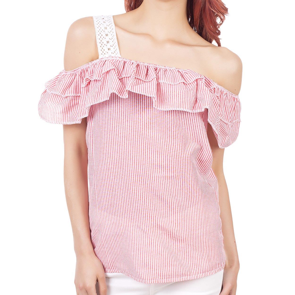 Bluza de dama cu maneca scurta de vara