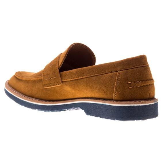 Pantofi barbati maro fara sireturi