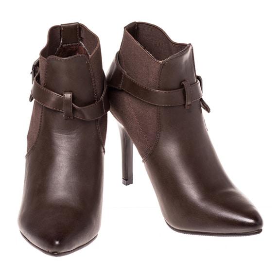 Pantofi cu Toc eleganti de dama Eliza maro