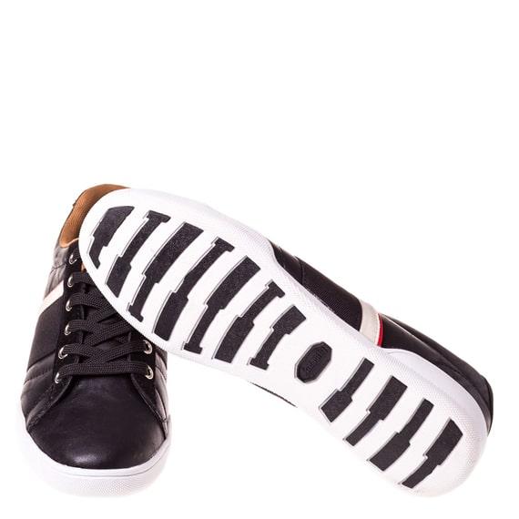 Pantofi negri casual barbati