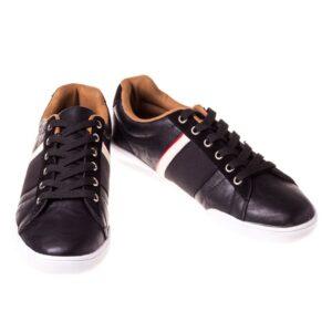 Pantofi negri casual barbati Tanno