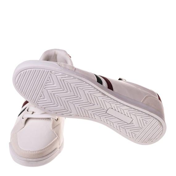 Pantofi sport albi casual barbati
