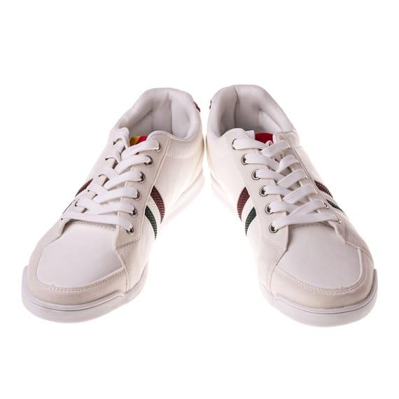 Pantofi albi casual barbati Laurent