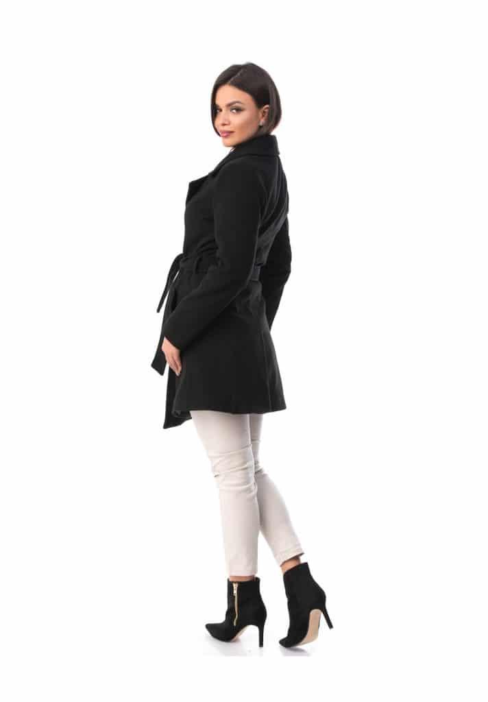 Pardesiu Dama Model NOU din stofa negru