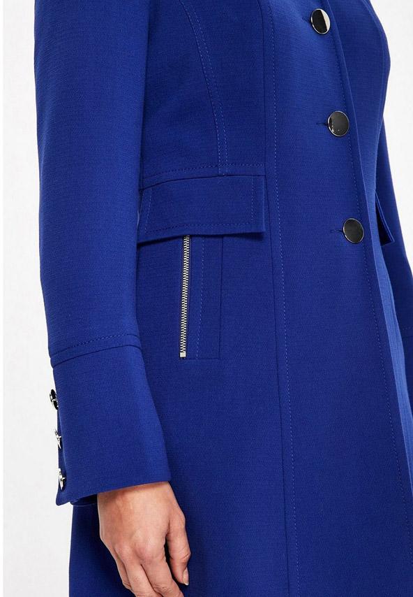 Palton albastru dama elegant model nou