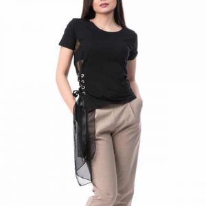 Bluză cu mânecă scurtă din Bumbac
