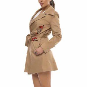 Jachetă Dama din bumbac cu căptușeală