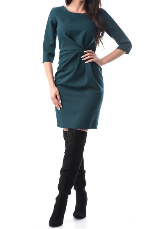 Rochie verde la mode de zi si seara