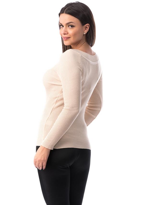Bluza pudra simpla eleganta dama