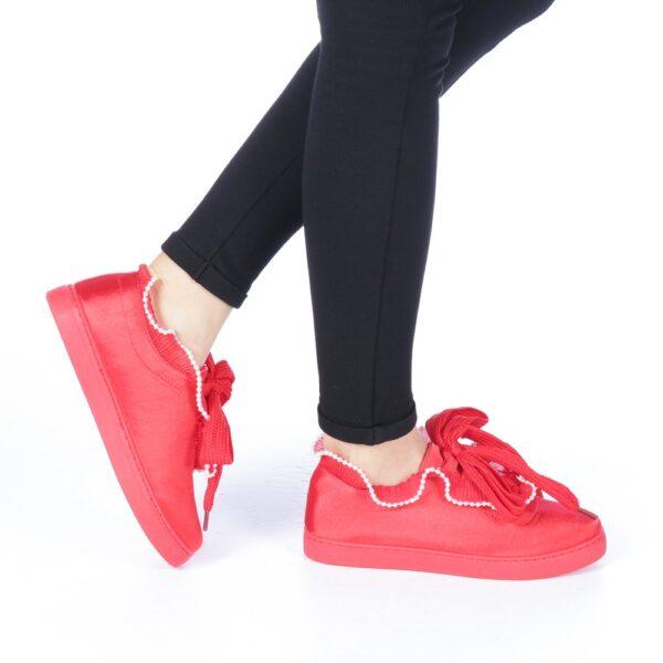 Pantofi sport rosii dama