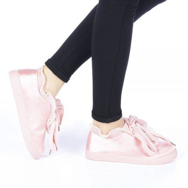 Pantofi roz sport dama