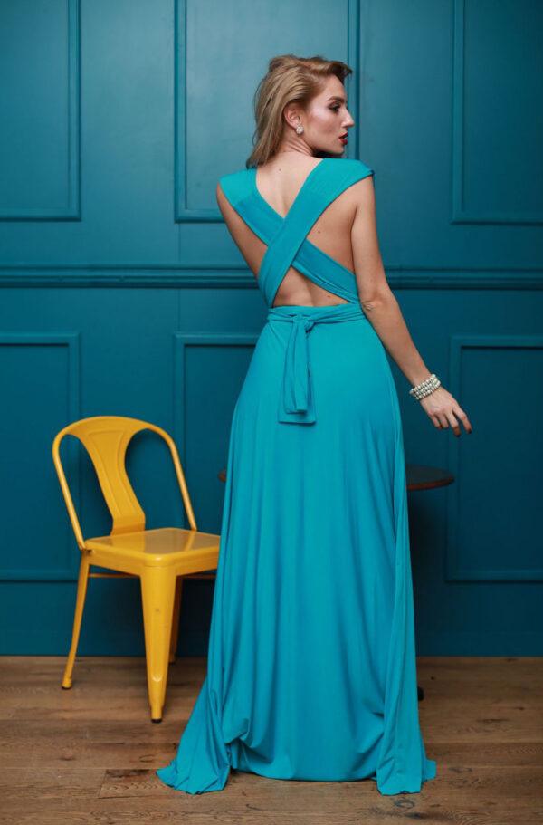 Rochie albastra pentru ocazii