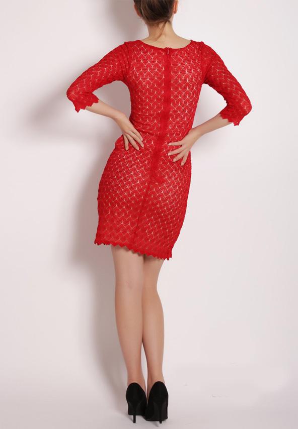 Rochie eleganta de ocazii rosie