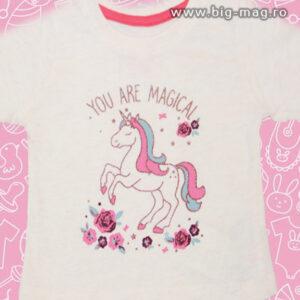 haine copii bluzita fata cu unicorn