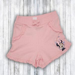 Pantaloni scurti roz Fetite