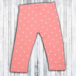 Pantaloni roz cu builne