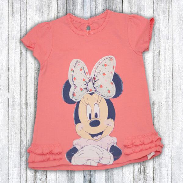 Tricou Fetite cu Minnie