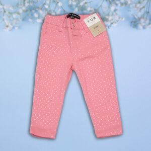 Pantalonasi Roz cu Buline