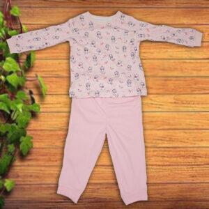 Bluzita si Pantaloni Roz