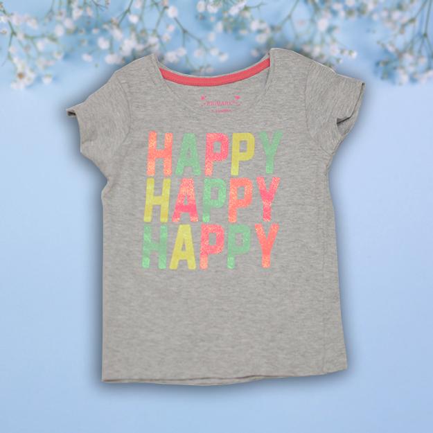 Tricou bumbac Copii Happy