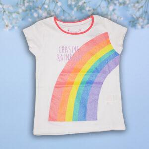 Tricou Fetite Rainbow