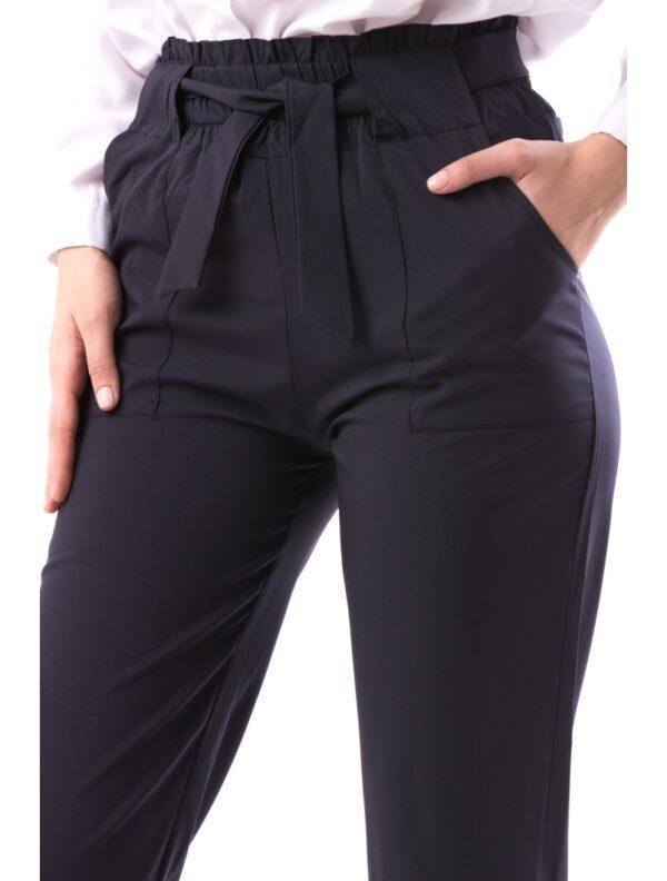 Pantaloni Dama Office Bleu