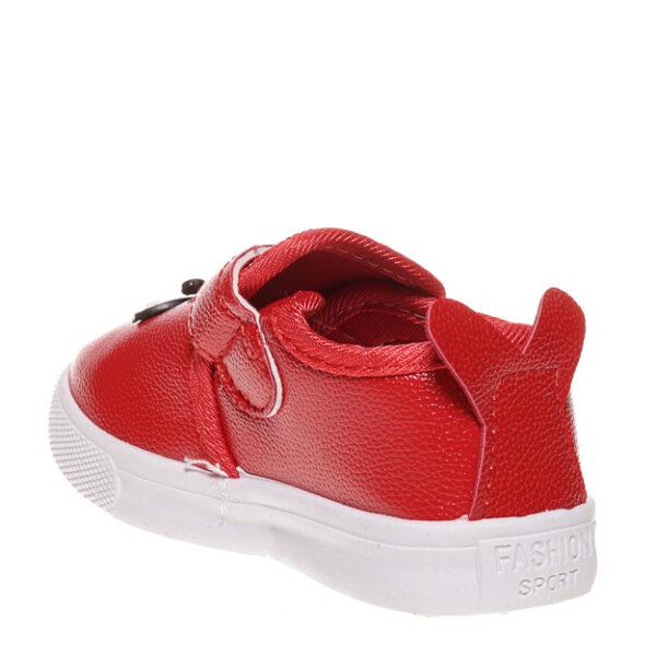 Tenisi rosii pentru copii