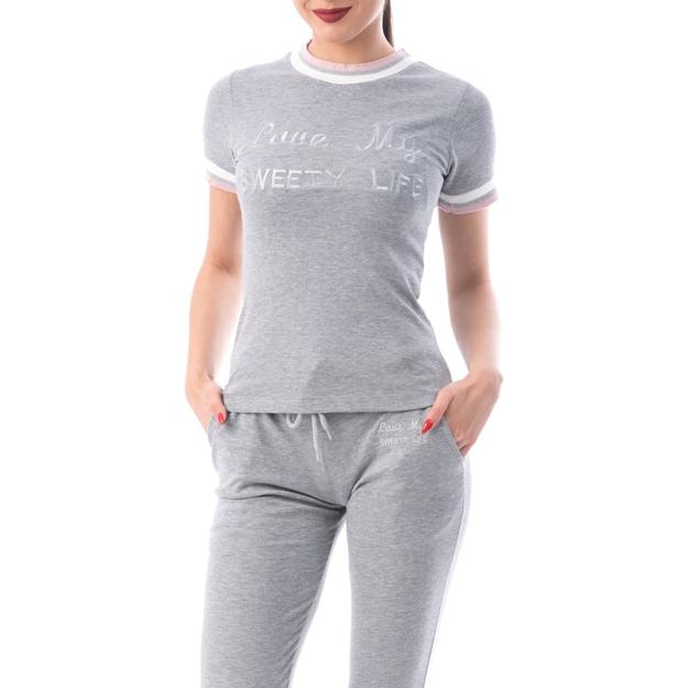 Trening tricou și pantaloni lungi