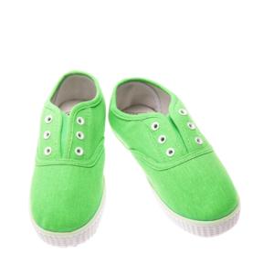 Tenisi pentru copii verde neon