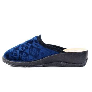 Papuci de Casa Maribon Bleumarin